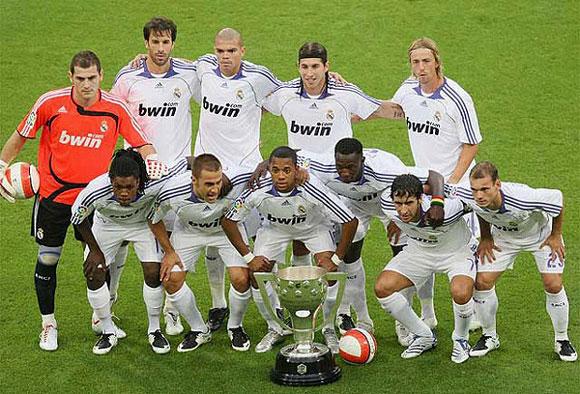 Состав футбольной команды реал мадрид 2008 2009