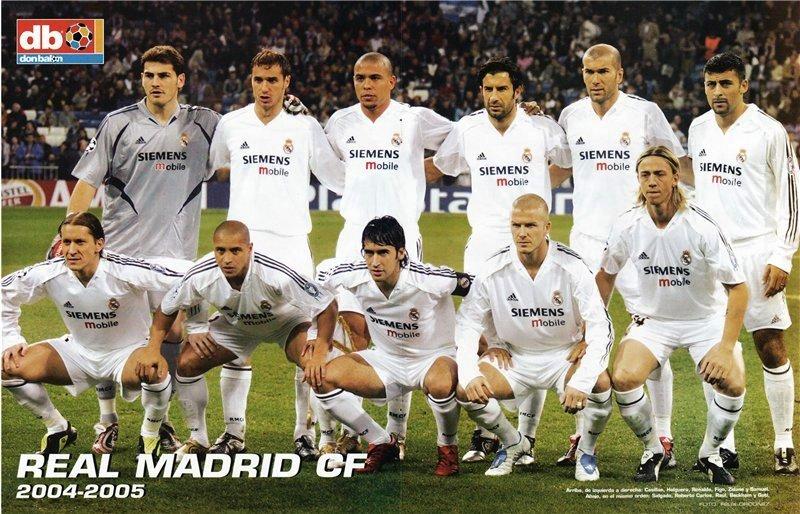 Реал мадрид состав 2006 года